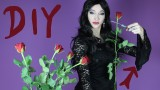 DIY Morticia Addams Costume – DIY Haloween 2014