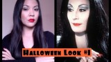 Halloween Tutorial: Morticia Addams look#1