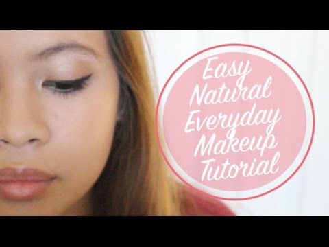 Easy Natural Everyday Makeup Tutorial | Vette Beauty
