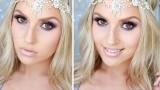 Drugstore Prom Tutorial ♡ Purple Lilac & Silver Sparkles!