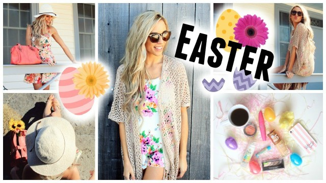 Easter Makeup + 2 Outfit Ideas!