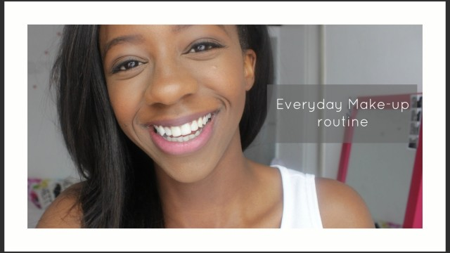My everyday Spring Make-up routine