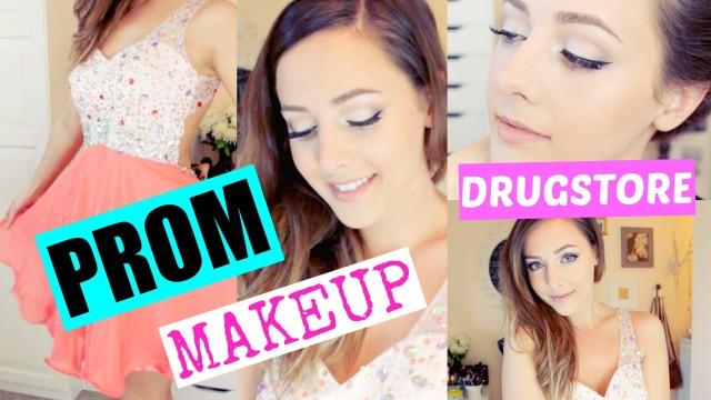 Drugstore Prom Makeup Tutorial! | GettingPretty