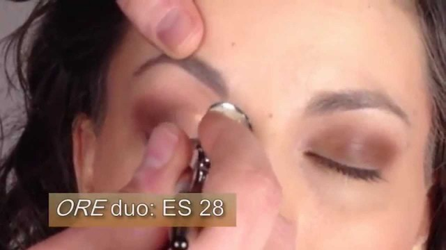 Airbrush Makeup How To Eyeshadow with Luminess Air: Ore, Evening Sari and Smokey Eyes sets